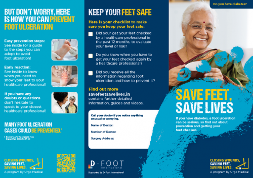 steps to avoid foot ulcers from diabetes